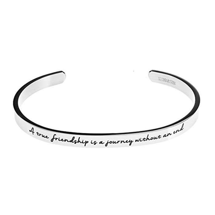 Rank & Style - Kendasun Jewelry True Friendship Cuff Bangle #rankandstyle