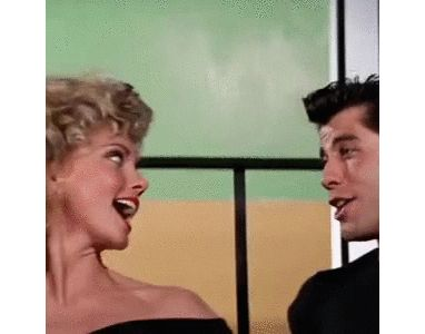 grease olivia newton john john travolta film culte fifties 1