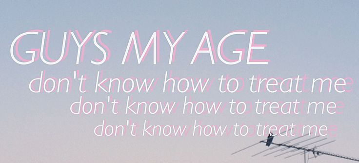 guys my age / hey violet / edit made by: @inXcapablexx
