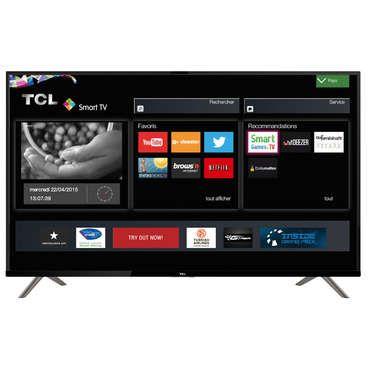 Téléviseur LED Ultra HD 4K 126 cm TCL U50S6906 - Efficacité énergétique:A;Garantie:GAR 2 ANS PCS, M OEUV et DPLCT;Largeur:112.7 cm;Taille d'écran:126 cm;Poids:13.2 kg;Prise casque:Oui;Tuner:TNT HD;Consommation électrique en marche:80 Wh;Résolution d'image:3840 px;Son:20 W;Nombre de peritel(s):1 .;Hauteur avec pied:70.5 cm;Hauteur sans pied:66.8 cm;Norme support mural:200X200;Port usb:Multimédia;Prises hdmi:4 .;Profondeur avec pied:19 cm;Profondeur sans pi