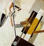 Proun 19D  by Eliezer (El) Markowich Lissitzky