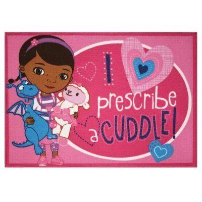 amazoncom doc mcstuffins prescribe cuddles area rug 44 by