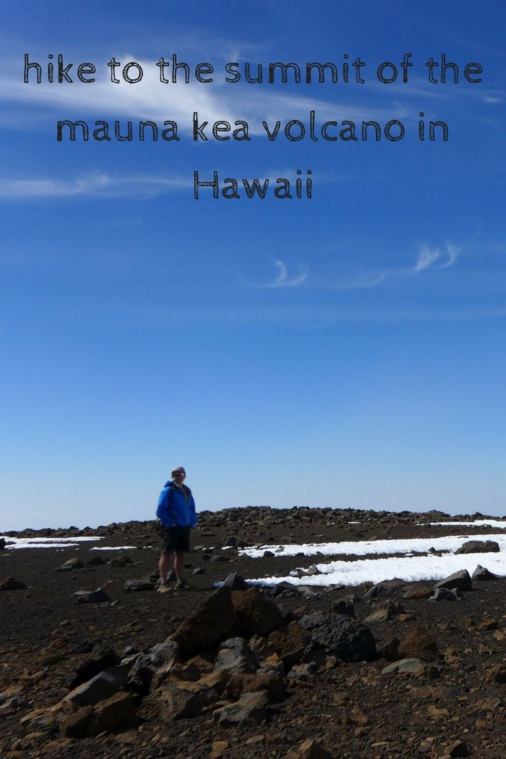 Looking for things to do on the Big Island? Hike up Mauna Kea! Great views and high altitude.