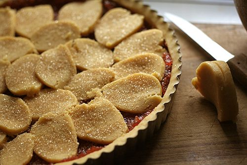 i think i might try this easy jam tart very soon.