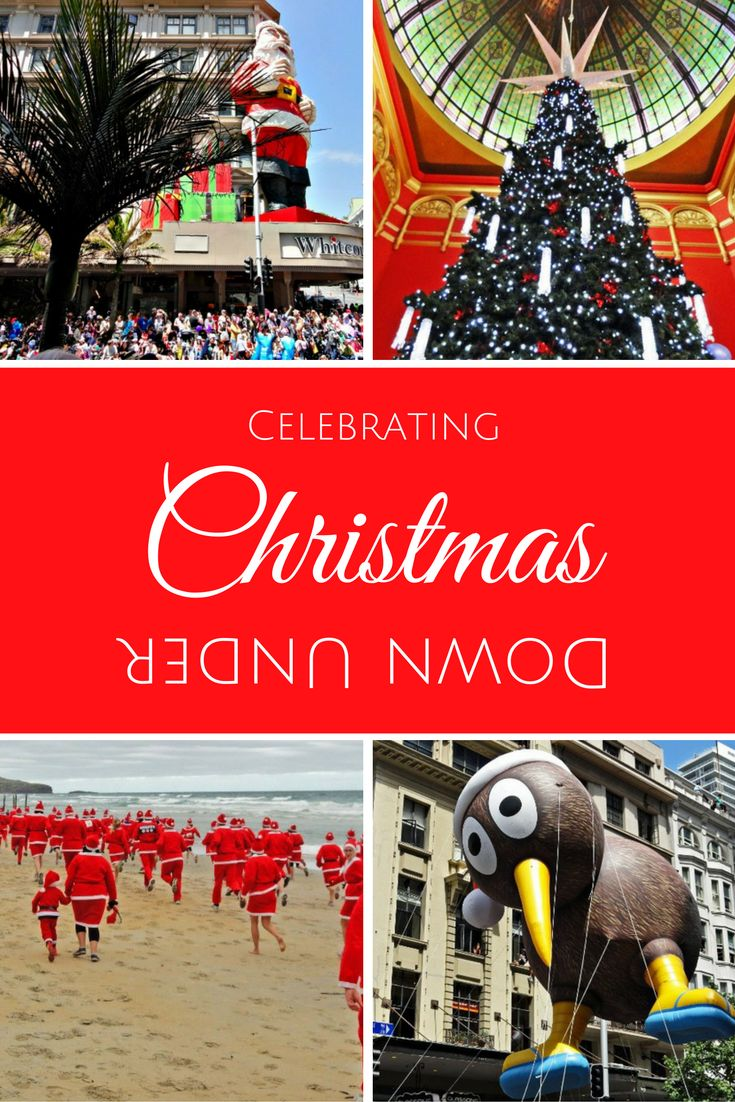 A couple of Northern Hemisphere types experience Christmas traditions from Australia and New Zealand