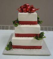 Christmas Wedding Cake