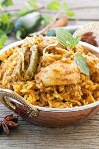Recette du biryani de poulet, grand classique de la cuisine Indienne !