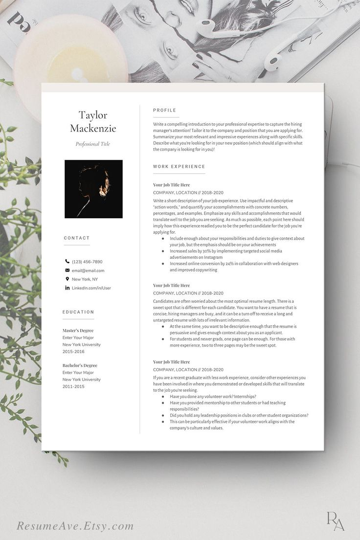 Polished google docs resume cv design and resume template