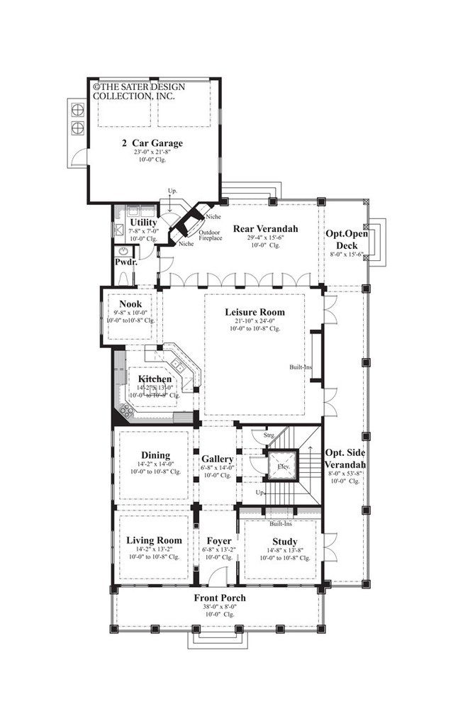 Sater home floor plans