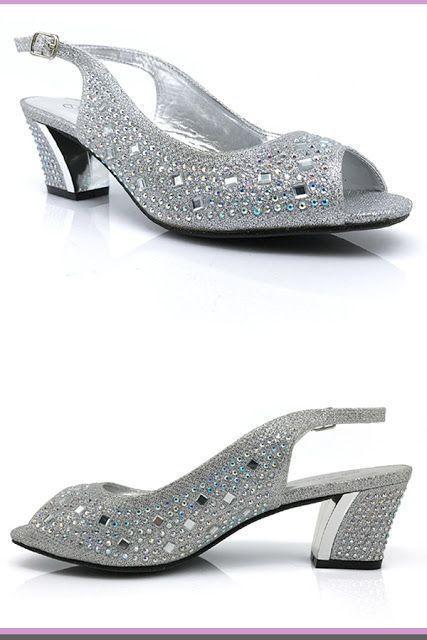 145c78c67629  WeddingShoes  wedding  WomensFashion silver wedding shoes Enzo Romeo  Lime01 Womens Open Toe Low Heel Wedding Rhinestone Wedge Sandal Sh…
