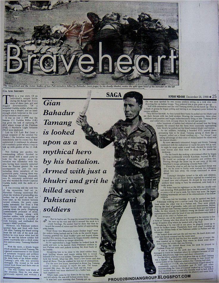 Kargil war Hero - Havaldar Gyan Bahadur Tamang | Proud to be Indian