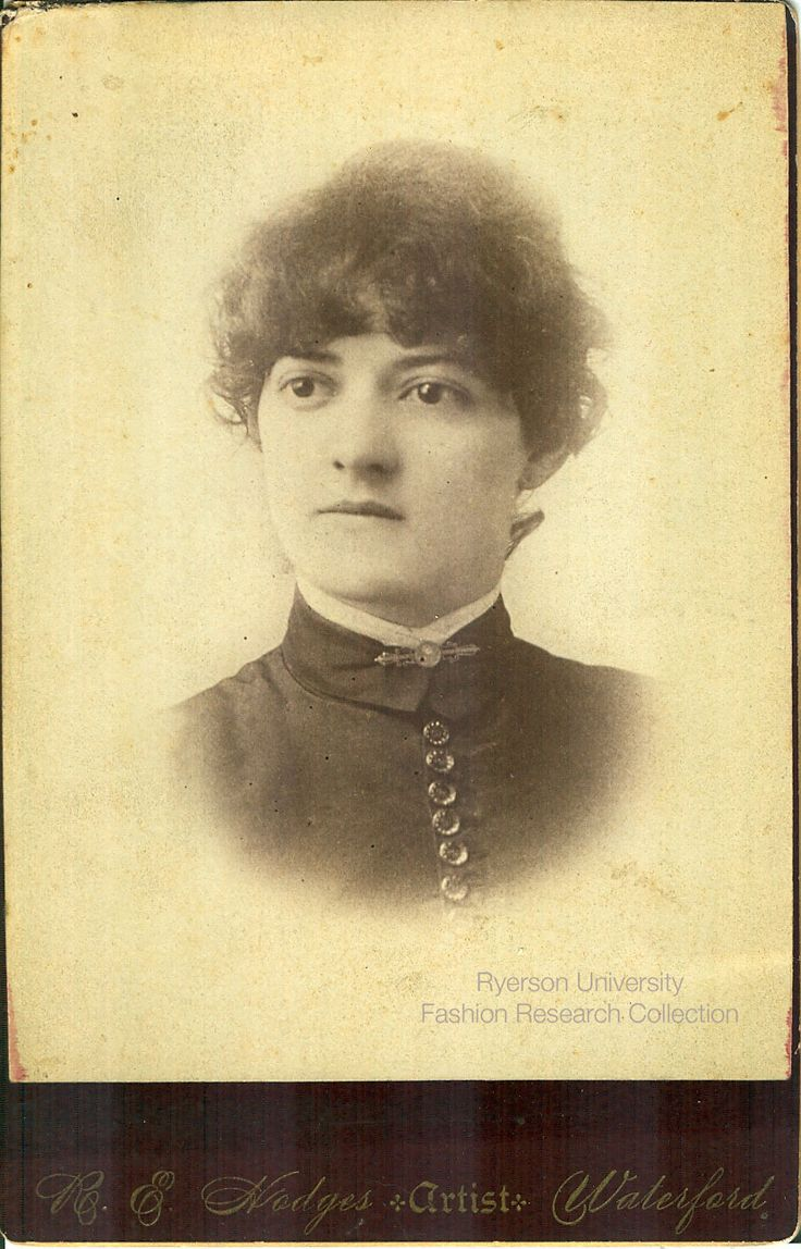 Headshot of a woman. Photographed by H.E. Hodges of Waterford, Ontario. FRC 2002.04.232
