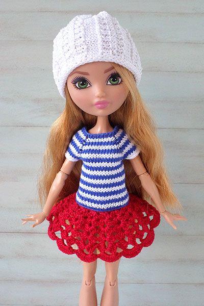 Одежда для куклы Ever After High, автор - Апельсиновая кошечка.