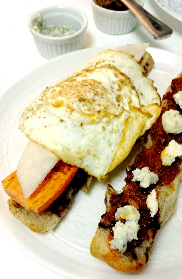 Top it with an Egg | Sun Dried Tomatoes, Carrot & Egg Sandwich ...