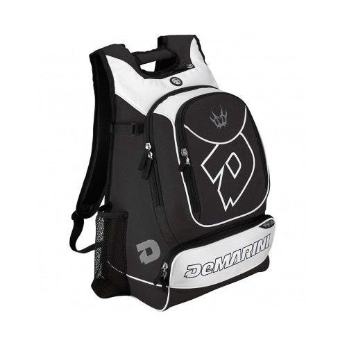 Softball Bat Bag Backpack Baseball Equipment Black White Sport Duffle Batpack  #DeMarini