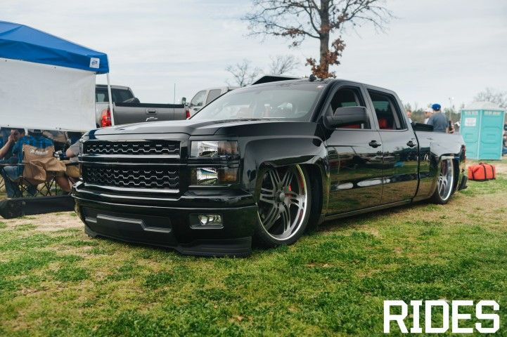 Bagged 2014 Silverado For Sale