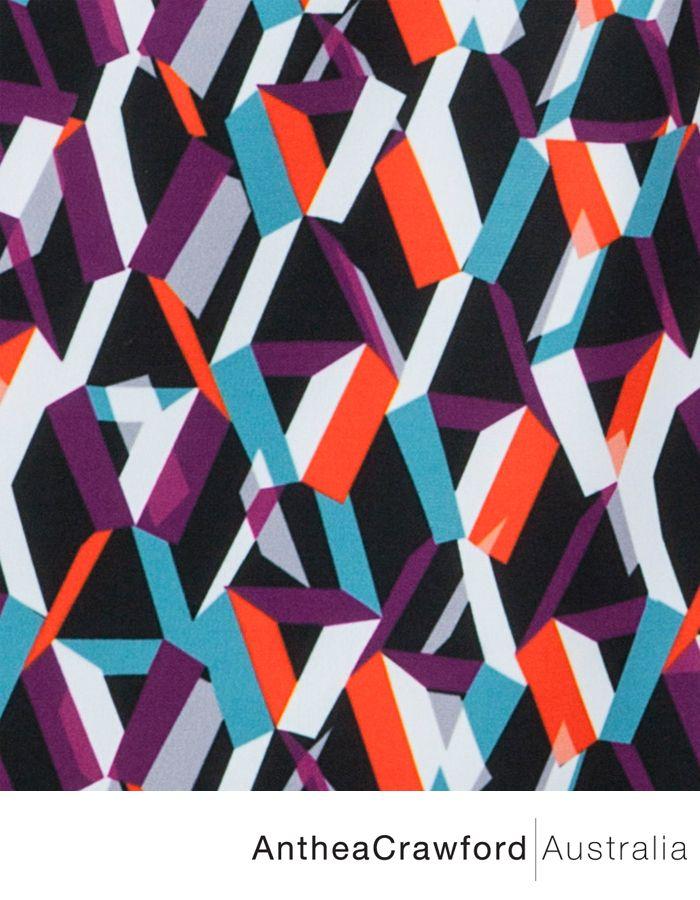 Abstract Digital Print AW14: Mixed Media