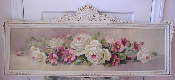 """""""Jessica"""" in an antique frame  C.Repasy"""
