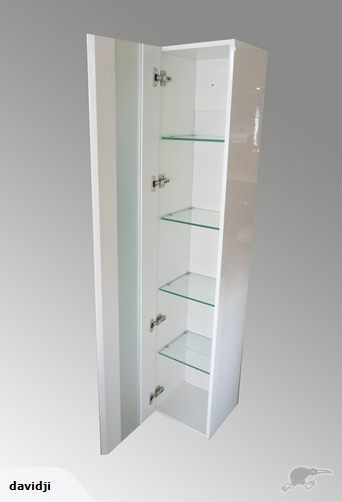 [DANIK]Wall hung towel cabinet, 1600mm high, $340 | Trade Me