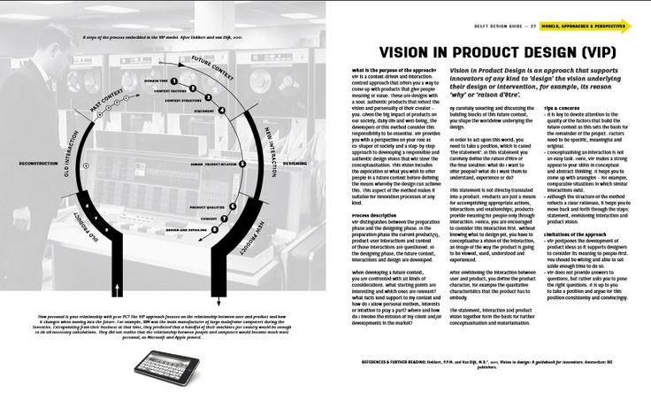 DelftDesignGuide pages Vision in Product design