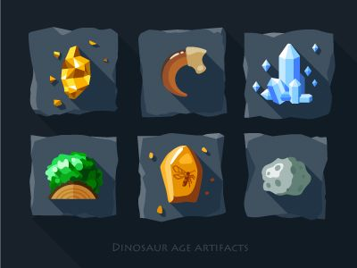 Artifacts icon set - 1 by Oleg Beresnev