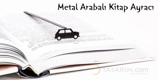 metal arabalı kitap ayracı modelleri