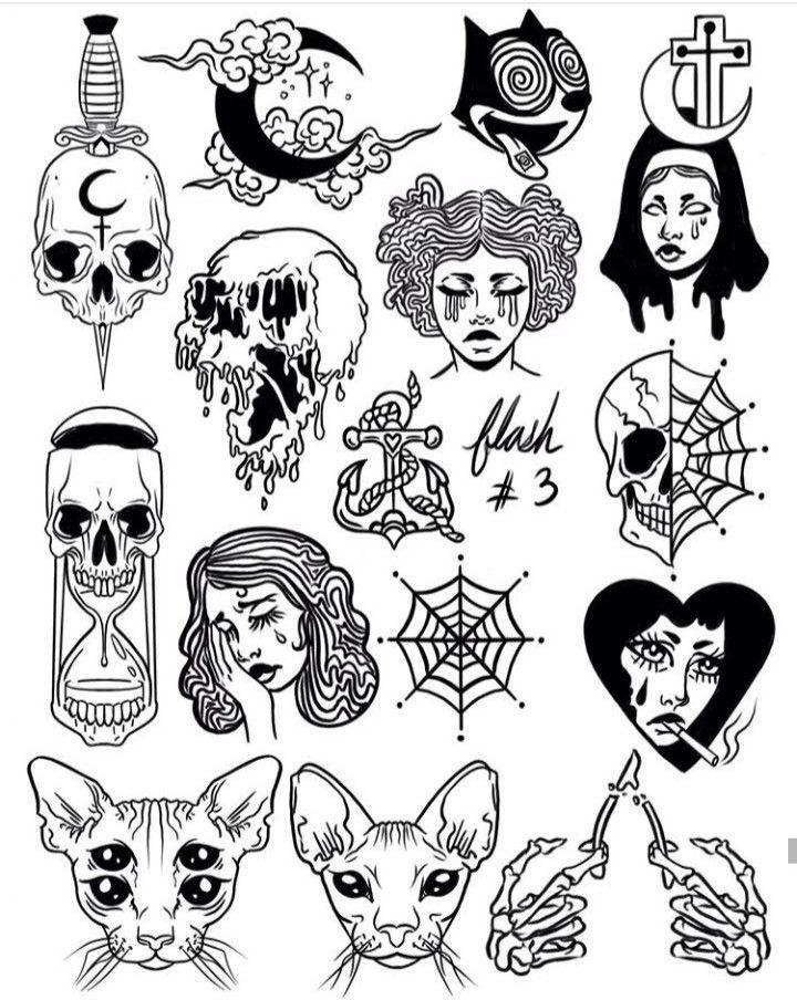Pin em Tattoos old school