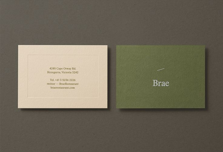 New Logo and Brand Identity for Brae by Studio Round - BP&O
