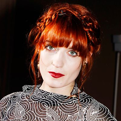 Florence Welch's Changing Looks - 2011 from InStyle.com