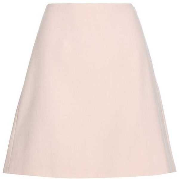 Alexander McQueen Pleated Miniskirt ($645) ❤ liked on Polyvore featuring skirts, mini skirts, pink, pleated mini skirt, pleated skirt, pink skirt, pink pleated skirt and short skirts