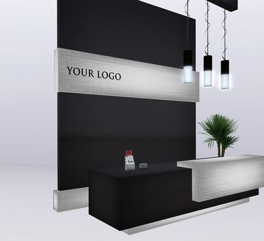 Accessible Counter Height Nz : Counter (customized) Front Desks Pinterest Reception Counter ...
