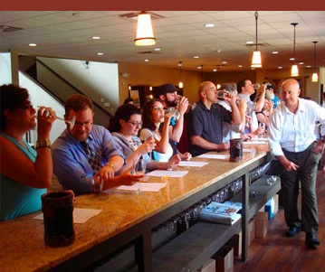 "Cheers! Sip delicious wine made 100 percent from the vineyard's vinifera grapes at Sand Castle Winery (@Sand Castle Winery).This photo is part of the Visit Bucks County ""Repin It To Win It Contest."" Repin this photo until May 1, 2012 to win a private barrel tasting and food pairing with the winemaker for four people at Sand Castle Winery."