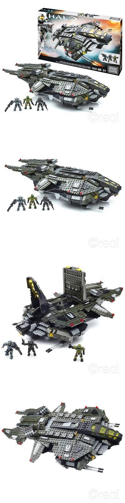 Mega Bloks 52338: New Mega Bloks Halo Unsc Vulture Gunship Building Playset And Figures Official -> BUY IT NOW ONLY: $79.99 on eBay!