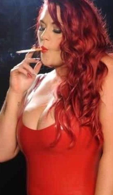 Redhead smoking cigerette pic gallery agree, very