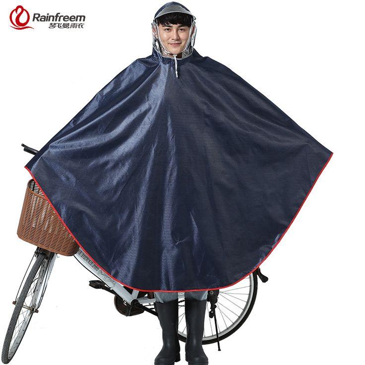 Rainfreem Impermeable Raincoat Women&Men Thick Bicycle Rain Poncho Plaid Oxford/Knitting Jacquard Women Waterproof Rain Gear-in Raincoats from Home, Kitchen & Garden on Aliexpress.com | Alibaba Group