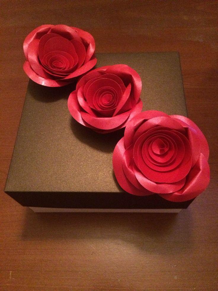 Estuche rosas, para cumpleaños, regalos, día de la mujer, día de la madre.