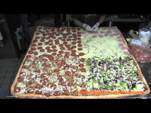 World's Largest Pizza Feeds Charities & Fundraisers, Courtesy of Big Mama's & Papa's Pizzeria