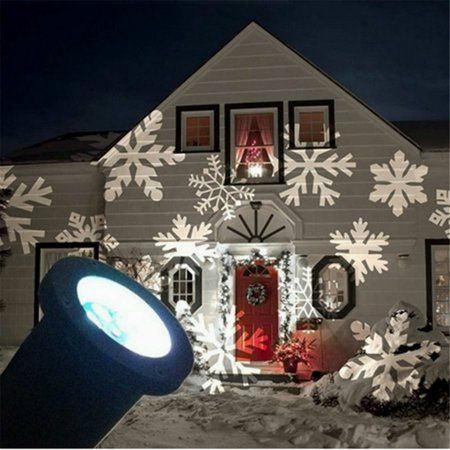 U Max Christmas Moving Snowflake Led Landscape Projector Light