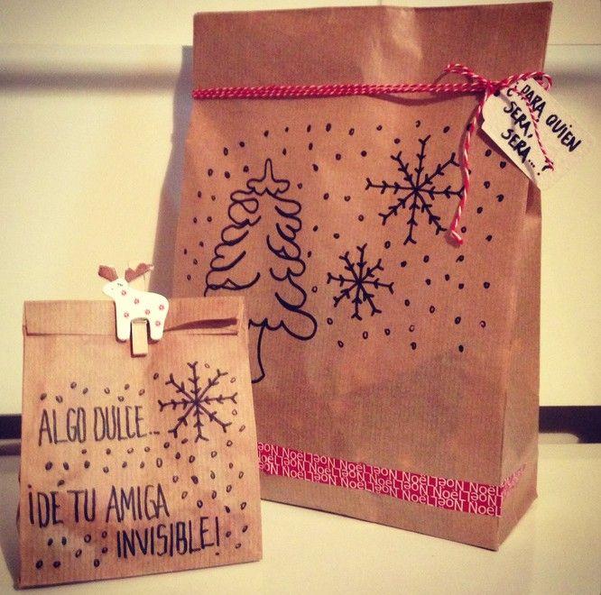 Pack de regalo amigo invisible navideño