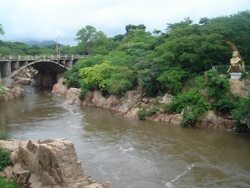 Río Guatapurí, Valledupar, Cesar - Colombia...
