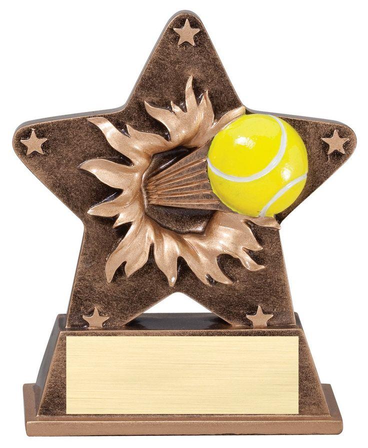 Starburst Tennis Trophy