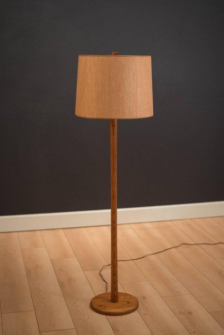 Mid century martz floor lamp