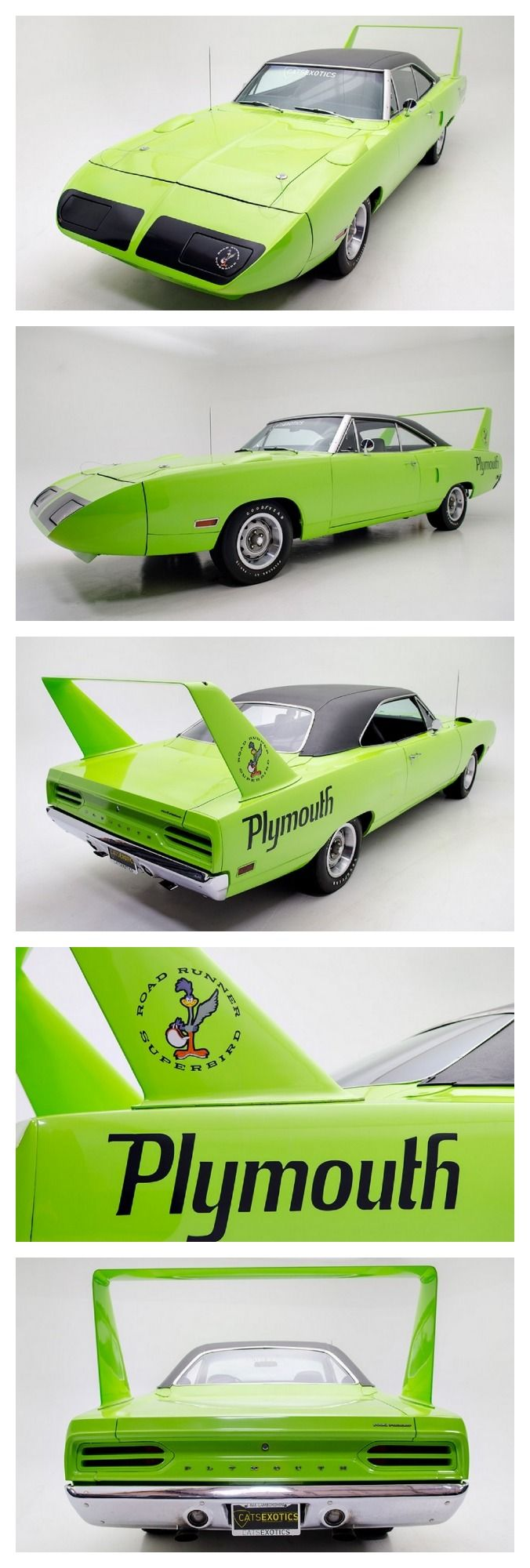 1970 Superbird!  ....Like going fast? Call or click: 1-877-INFRACTION.com (877-463-7228) for local lawyers aggressively defending Traffic Tickets, DUIs and Suspended Licenses throughout Florida