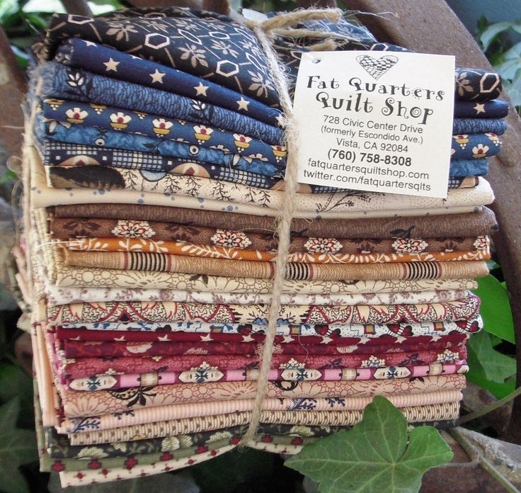 The Fat Quarter Bundles For The New Collection Civil War