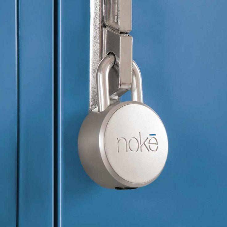 Zámok ktorý otvoríte mobilom | Bluetooth visiaci zámok NOKE Padlock