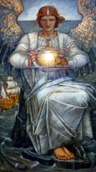 Angel by Edward Reginald Frampton - a perfect Temperance image