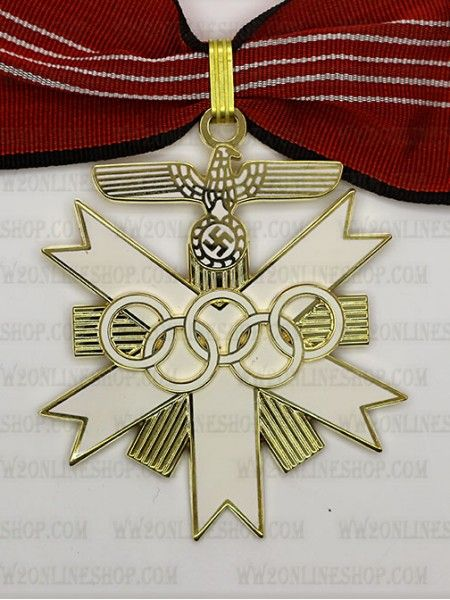 Replica of German Olympic Decoration 1st Class for Sale