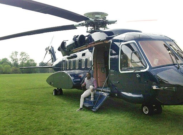 When pop star WILL.I.AM attended at a climate change debate recently, he arrived in his massive private helicopter
