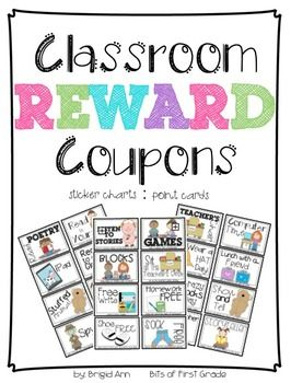 159 best 2nd grade images on pinterest classroom ideas activities reward coupons classroom management fandeluxe Gallery