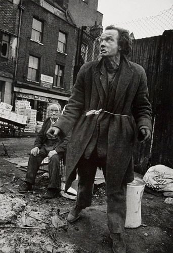 remarkable image by McCullin taken in Spitafields in the 1960s- Real in your face poverty
